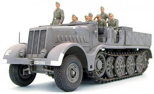Tamiya  1 3 5 Schwerer Zugkraftwagen 18t (Sd.Kfz.9) Famo 35239  100% authentique